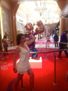 wynn, popeye, jeff koons, hotel, travel, united states of america, art, luxe