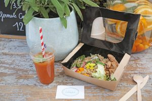lunch box, la guinguette d'angèle, healthy, gluten free, no gluten, vegan, paris, restaurant