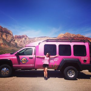 pink jet tour, red rock canyon, las vegas, pink, travel, nevada, america, USA