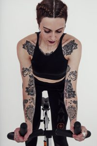tatoo, dynamo, tilly, cycling, paris, sport, indoorcycling, coach