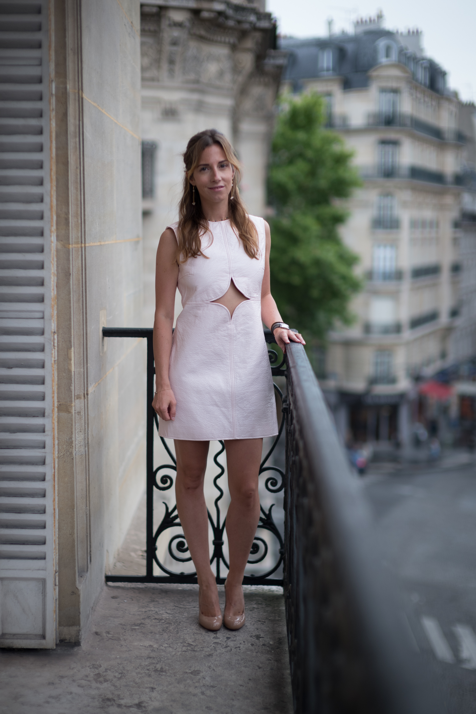 courreges ; robe ; dress ; style ; fashionstyle ; blog ; blogueuse ; mode ; fashion ; ombeline de Louvigny