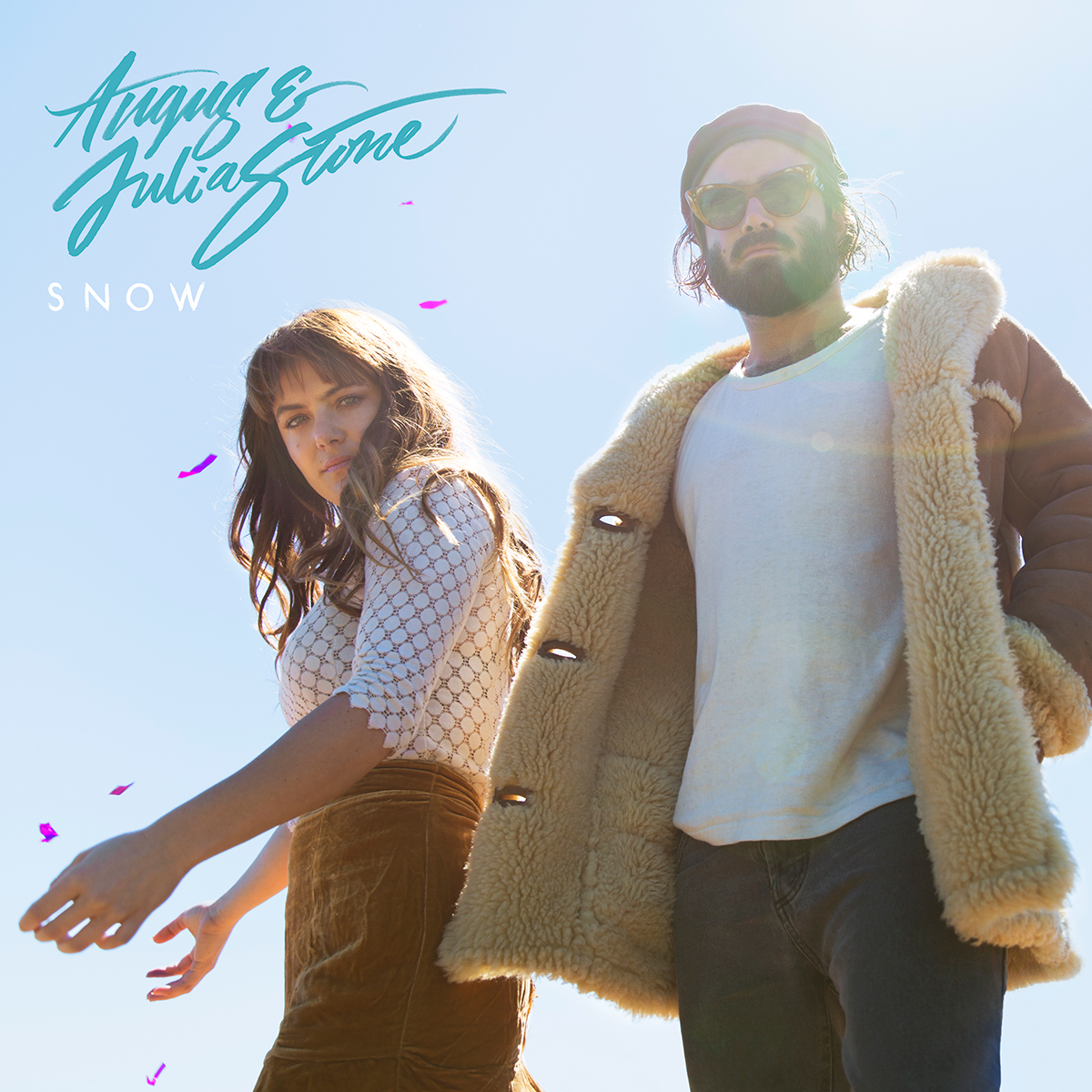 cover-SNOW-album ; Angus & Julia Stone
