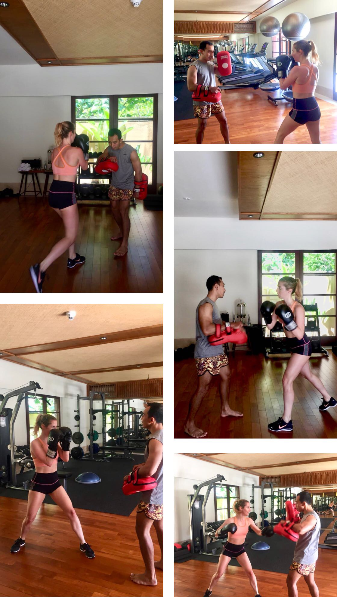 boxe thai ; cardio ; revivo ; revivo wellness ; revivo welness resort